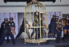 Sunny Leone perform cage dance at Baby Doll song launch
