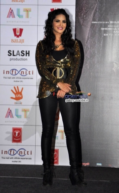Sunny Leone present at at Baby Doll song launch