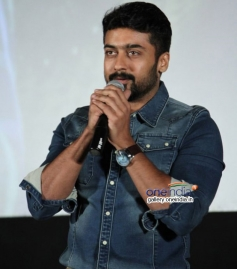 Suriya at Cuckoo audio launch