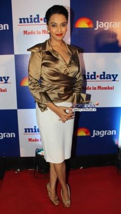 Swara Bhaskar at Mid Day Newspaper's relaunch party