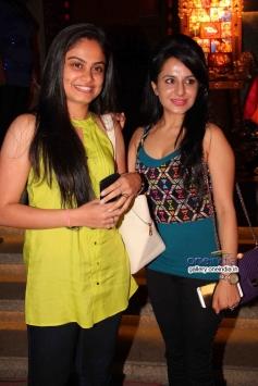 Toral Rasputra and Roop Durgapal at success party of TV serial Balika Vadhu