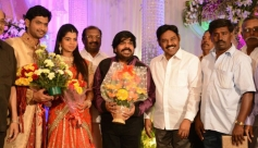 TR Pachamuthu at T Rajendar Daughter Ilakiya Wedding Reception