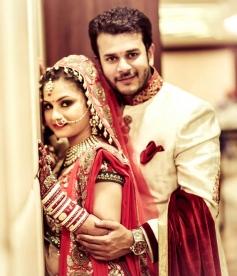 TV actor Jay Soni and Pooja Shah wedding