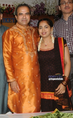 Suresh and Padma Wadkar at the 14th Vasantotsav