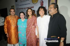 Suresh Wadkar, Ustad Zakir Hussain and Hariharan at the 14th Vasantotsav