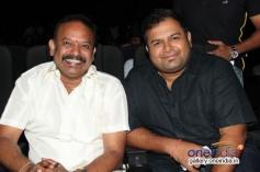 Venkat Prabhu and Thaman at Damaal Dumeel audio launch