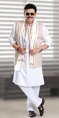 Victory Venkatesh still from Radha Movie