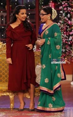 Vidya Balan on Comedy Nights with Kapil