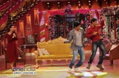 Vidya and Farhan promote SKSE on Comedy Nights with Kapil