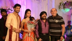 VijayaKumar at T Rajendar Daughter Ilakiya Wedding Reception