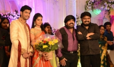 Vikraman at T Rajendar Daughter Ilakiya Wedding Reception