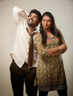 Vimal and Lakshmi Menon still from film Manja Pai