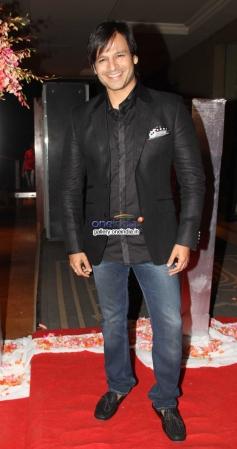 Vivek Oberoi at Siddharth Kannan and Neha Agarwal wedding reception