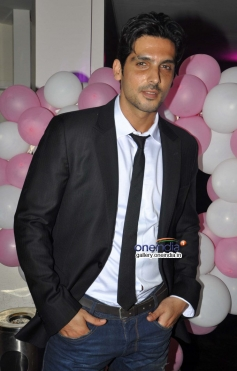 Zayed Khan at first look launch of film Desi Magic