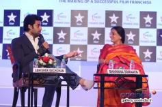 Abhishek Bachchan and Bhawana Somaaya at FICCI Frames 2014 - Day 2