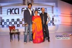 Abhishek Bachchan, Bhawana Somaaya and Vijay Krishna at FICCI Frames 2014 - Day 2