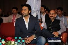Abhishek Bachchan and Vijay Krishna during the FICCI Frames 2014 - Day 2