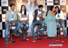 Aditya, Izabelle, Tanuj, Rati Agnihotri & Tanushri Chattrji at Purani Jeans trailer launch