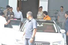 Aishwarya Rai with daughter and husband return from Holi celebration