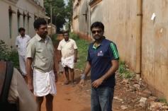 AL Vijay's film Saivam shooting spot still