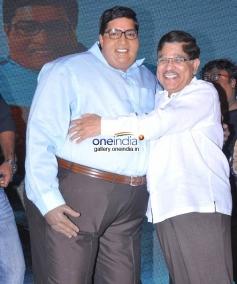 Allari Naresh, Allu Aravind at Laddu Babu Movie Audio Release