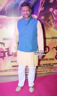 Anubhav Sinha at Gulaab Gang film screening