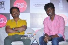 AR Murugadoss and Atlee at Raja Rani Movie Success Meet
