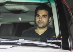 Arbaaz Khan at O Teri film screening