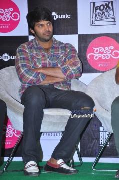 Arya at Raja Rani Movie Success Meet