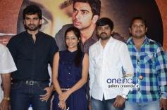 Ashok Selvan, Janani Iyer at Bhadram Movie Press Meet