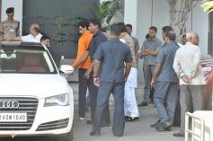 Bachchan family return from Holi celebration