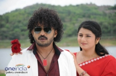 Balu and Rani in Kannada Movie Mestri