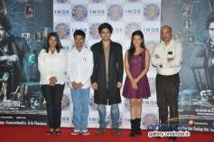 Rajeev Khandelwal and Madalasa Sharma at Samrat and Co trailer launch