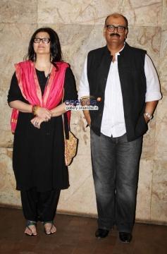 Sarika and Sanjay Tripathi at Club 60 film special screening