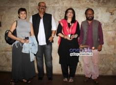 Deepa Sahi, Sanjay Tripathi, Sarika and Ketan Mehta at Club 60 film special screening