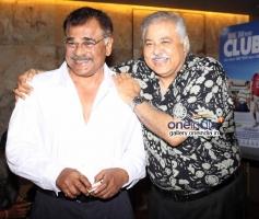 Sharat Saxena and Satish Shah at Club 60 film special screening