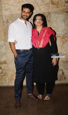 Sarika and Viraf Patel at Club 60 film special screening