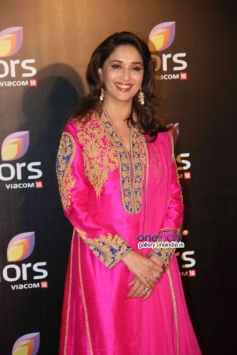 Madhuri Dixit at Colors channel party 2014