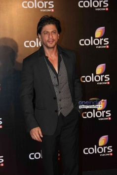 King Khan poses at Colors channel party 2014
