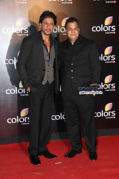Shah Rukh Khan at Colors channel party 2014
