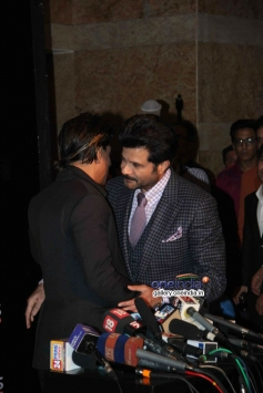 Shahrukh Khan and Anil Kapoor at Colors channel party 2014