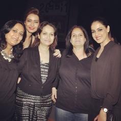 Genelia D'Souza at Karishma Tanna's birthday bash 2014