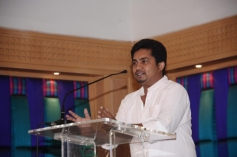 Celebs at Maan Karate film press meet