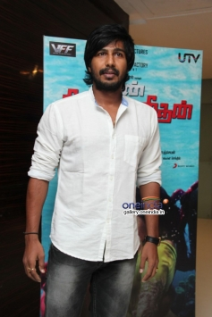 Vishnu at Naan Sigappu Manithan audio launch