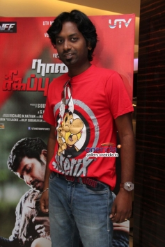 Celebs at Naan Sigappu Manithan audio launch