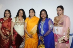 Gayathri Raghuram with Kala and Brinda at Soulmates Awards 2014