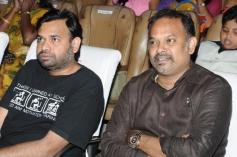 Premgi Amaren and Venkat Prabhu at Soulmates Awards 2014