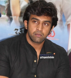 Chiranjeevi Sarja at Chandralekha Movie Press Meet