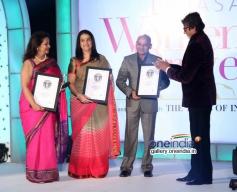 Devika Bhojwani, Anuradha Paraskar and Amitabh Bachchan at Lavasa Women's Drive 2014