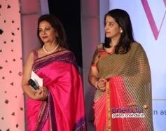 Devika Bhojwani and Anuradha Paraskar at Lavasa Women's Drive 2014